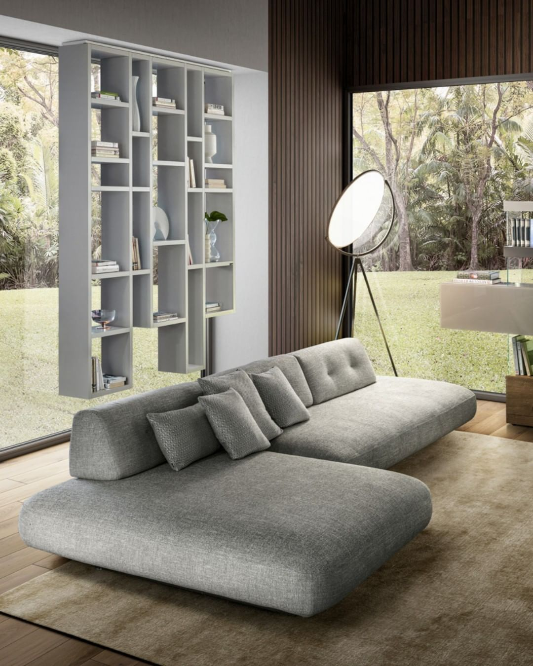 Soft And Rounded Shapes As If Smoothed By The Wind And Water The New Sand Sofa Is Available In The Lago Elements 2020 Col In 2020 Fabric Sofa Design Fabric Sofa Sofa