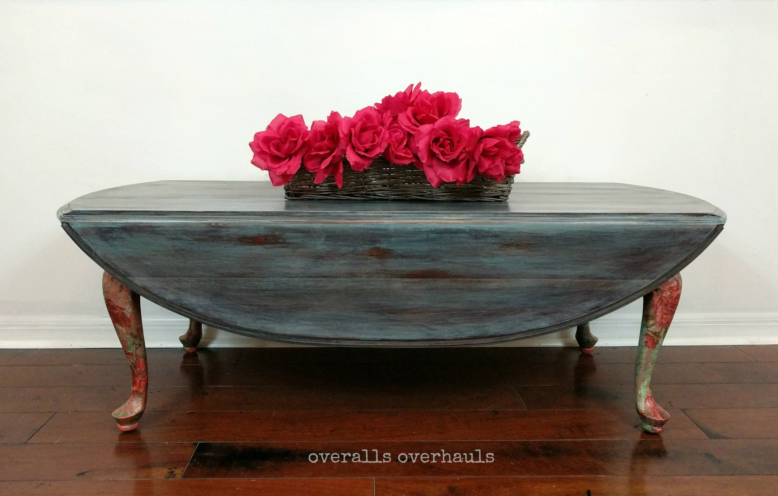 Whimsical Drop Leaf Coffee Table By Ethan Allen Coffee Table