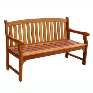 Exceptionnel Vifah, Eucalyptus Patio Bench, V275 At The Home Depot   Mobile