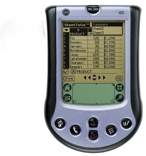 de circuit training music timer for pda pocket pc displayed on an