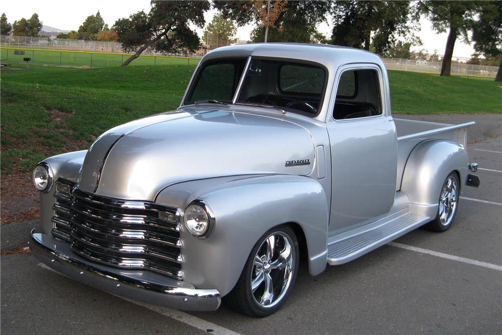 1950 Chevrolet 3100 Custom Pickup Classic Trucks Chevy Pickup Trucks Classic Pickup Trucks