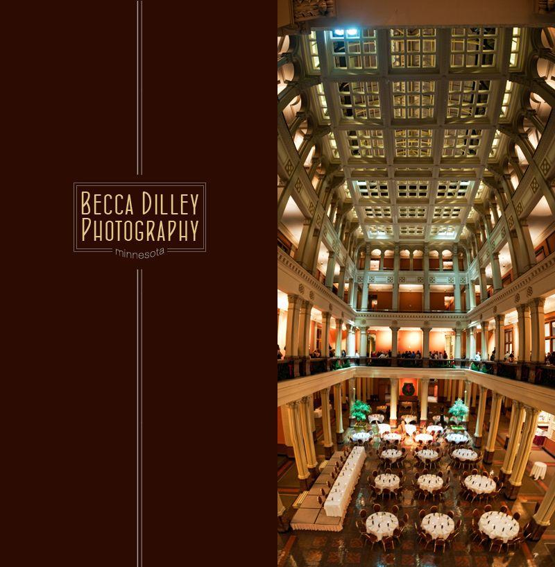 wedding halls st paul mn%0A landmark center wedding reception panorama interior with tables st paul mn