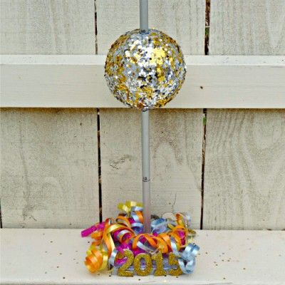 New Years Eve Mini Ball Drop | New years eve ball, Family ...