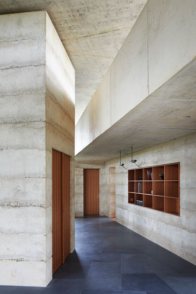 Peek inside Peter Zumthor's 'Secular Retreat' is part of architecture House Videos Wood - His first permanent building in the UK