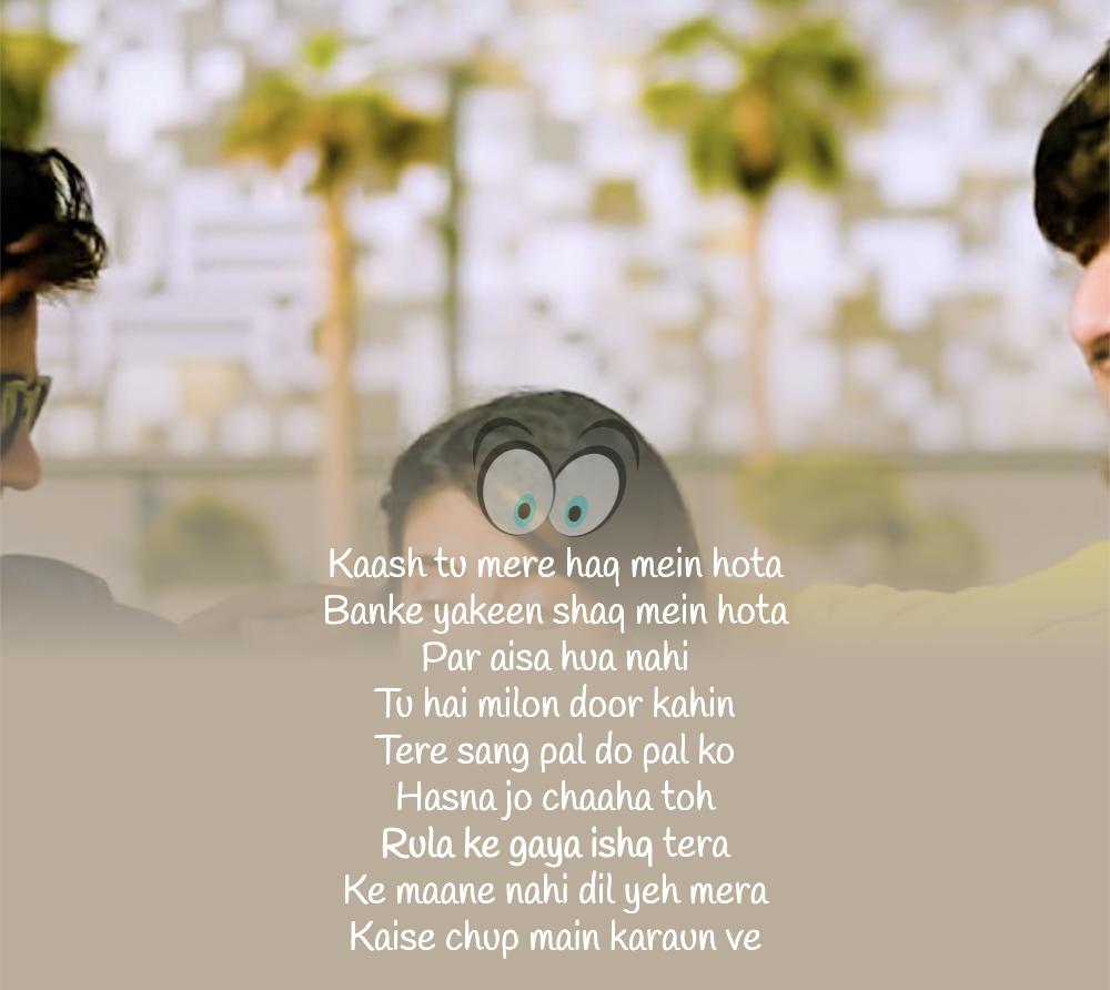 Rula Ke Gaya Ishq Lyrics Bhavin Sameeksha Vishal Stebin Ben Dekhogaana Com Saddest Songs Song Qoutes Songs