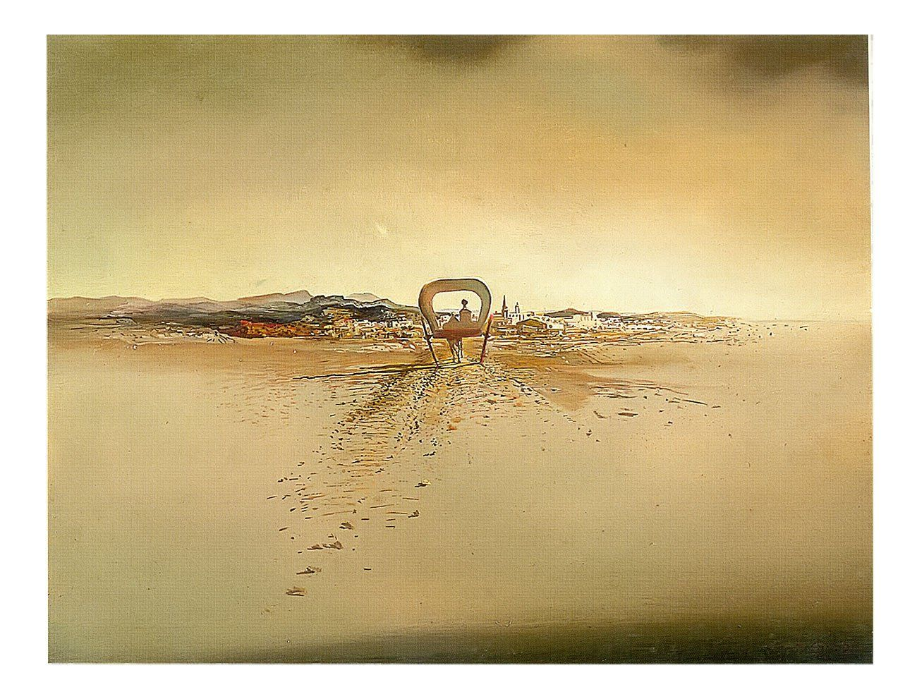 The Phantom Cart by Salvador Dali Print from Truly Art. | •art ...