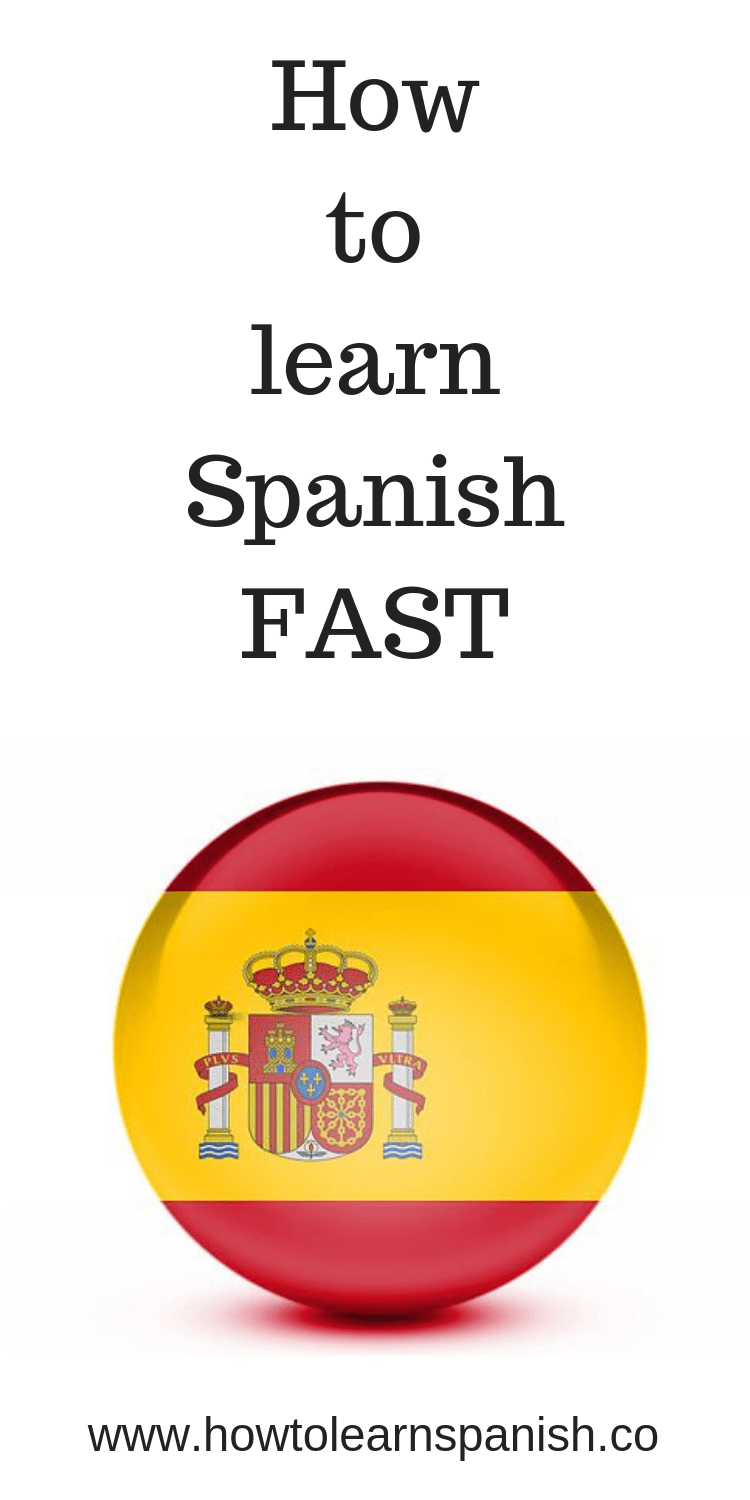 How to learn Spanish FAST #learningspanish
