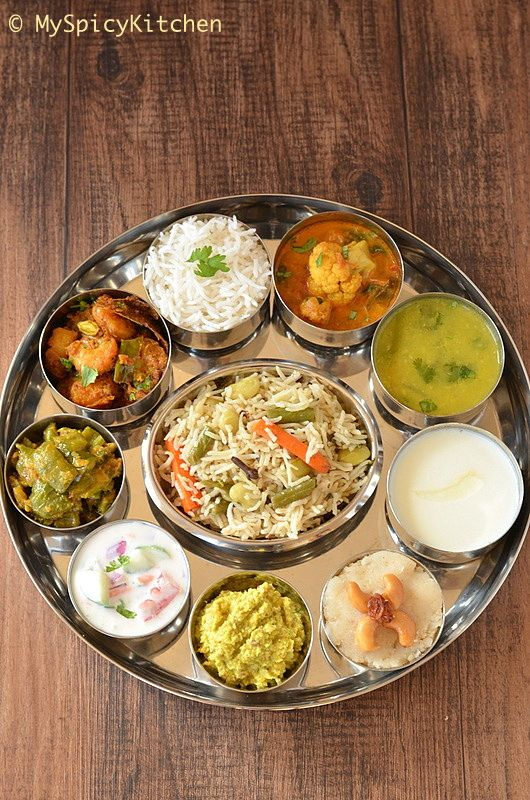 Simple telugu bhojanam telugu thali from telangana south blogging marathon buffet on table telugu meal telugu thali telangana food forumfinder Images