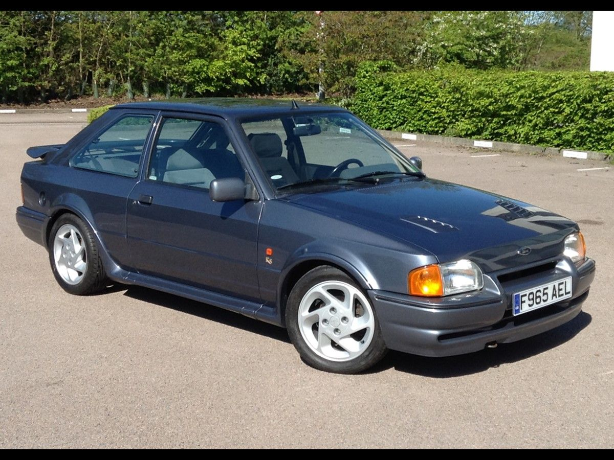 The Trade Archive Mad On Collections Car Ford T3 Turbo Sell Car