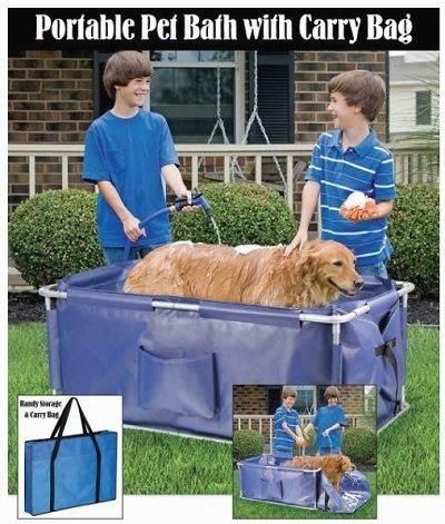 Portable Foldable Pet Bath Tub Great Deal Http Amzn To