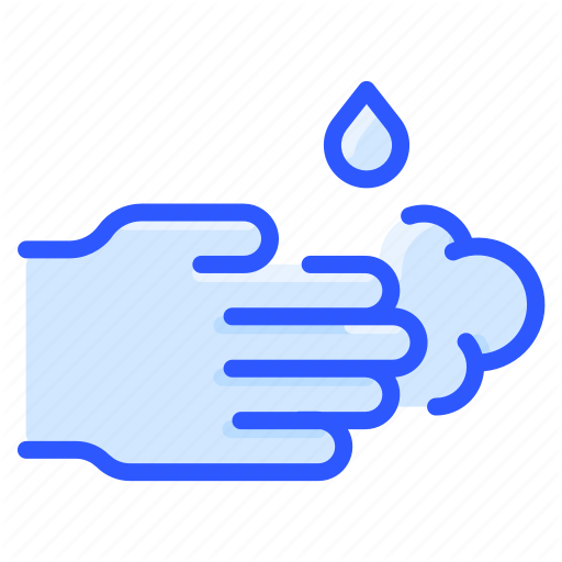 Clean Foam Hand Liquid Soap Washing Water Icon Download On Iconfinder Water Icon Hygiene Icon