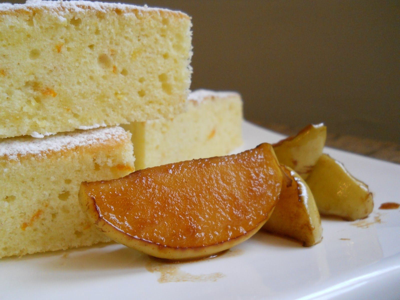 Cooking & Baking With Wine - Shown is Late Harvest Citrus Cake