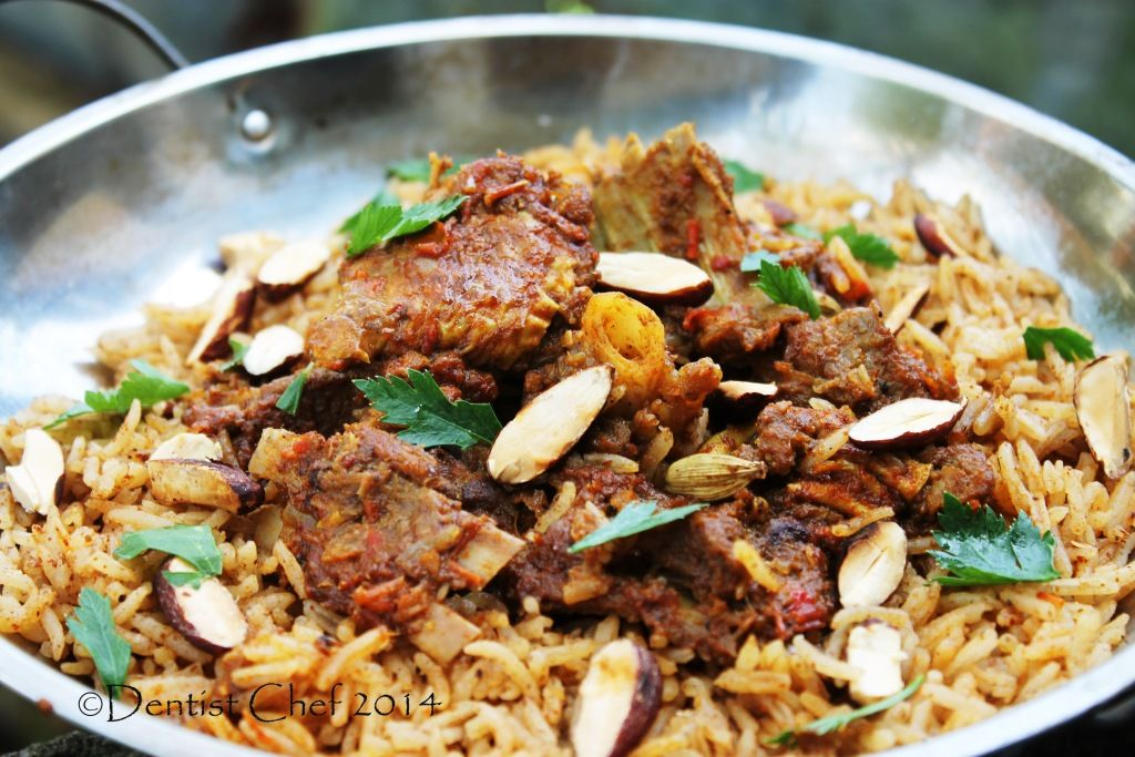 Lamb goat mandi rice arabian spicy roasted lamb and goat meat lamb and goat mandi rice recipe mandi rice or mandhi rice also known as forumfinder Images