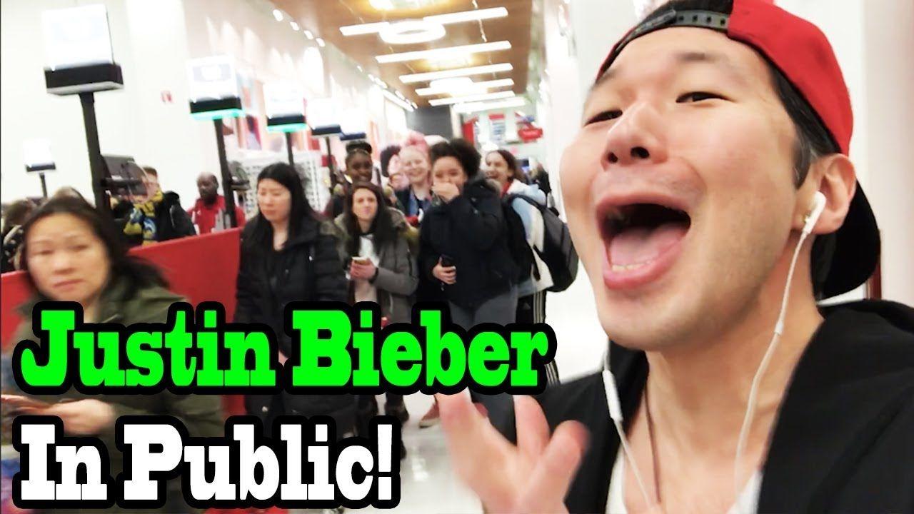 SINGING IN PUBLIC - JUSTIN BIEBER in 2020   Justin bieber ...