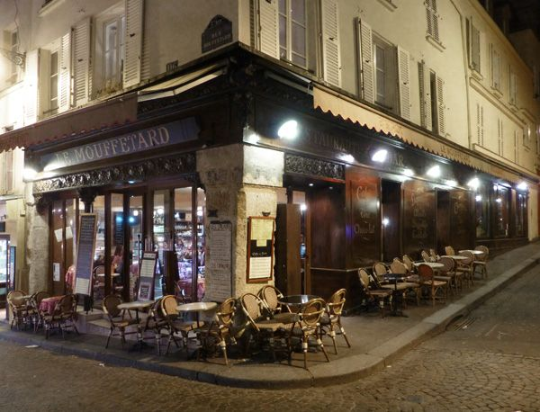 Le Mouffetard stands at the intersection of two ancient streets, rue ...