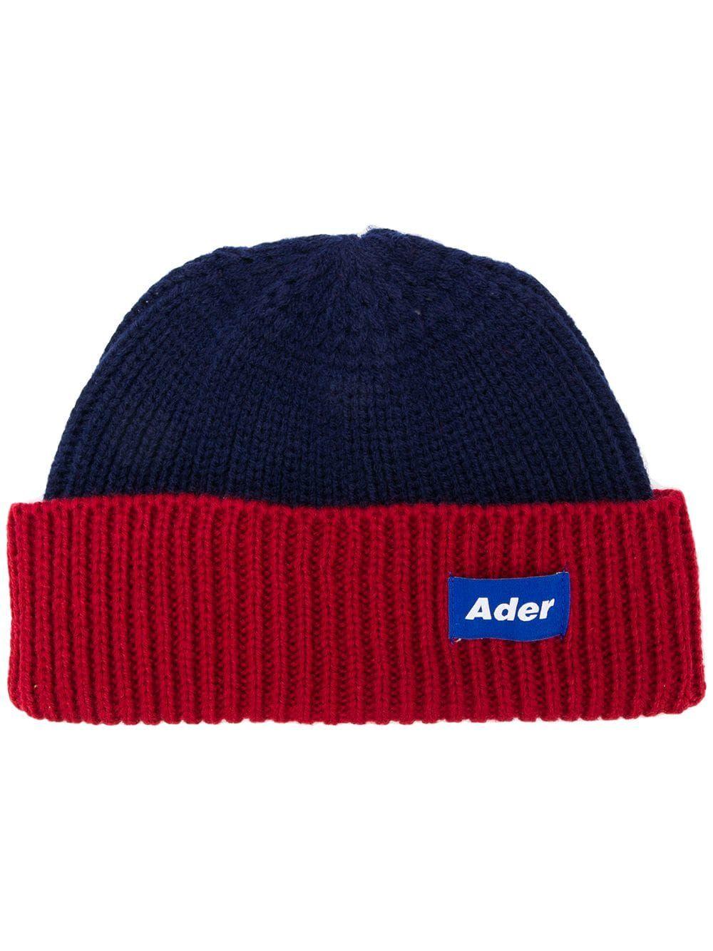 4a3b515d50203 Ader Error ribbed knit beanie Cap