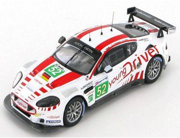 The IXO Aston Martin DBR9 #52 C.NYGAARD/T.ENGE/P.K #52 LMGT1 3rd Le Mans 2010, is a diecast model racing car in 1/43 scale from the IXO 24hr Le Mans range and is a new model for 2012.