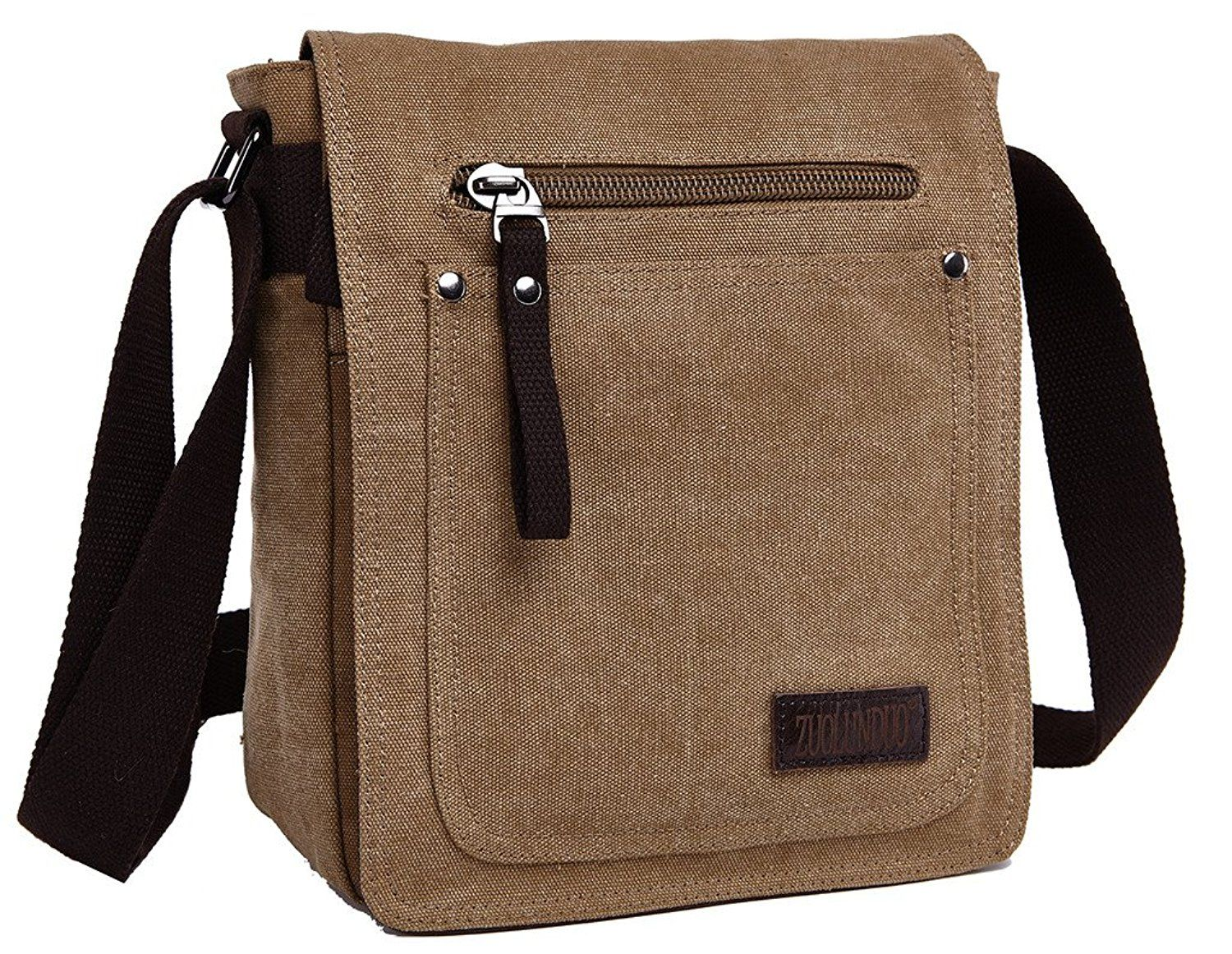 818740890a ZUOLUNDUO Vintage Small Canvas Shoulder Messenger Bag Crossbody School Bag      Check this awesome product by going to the link at the image.