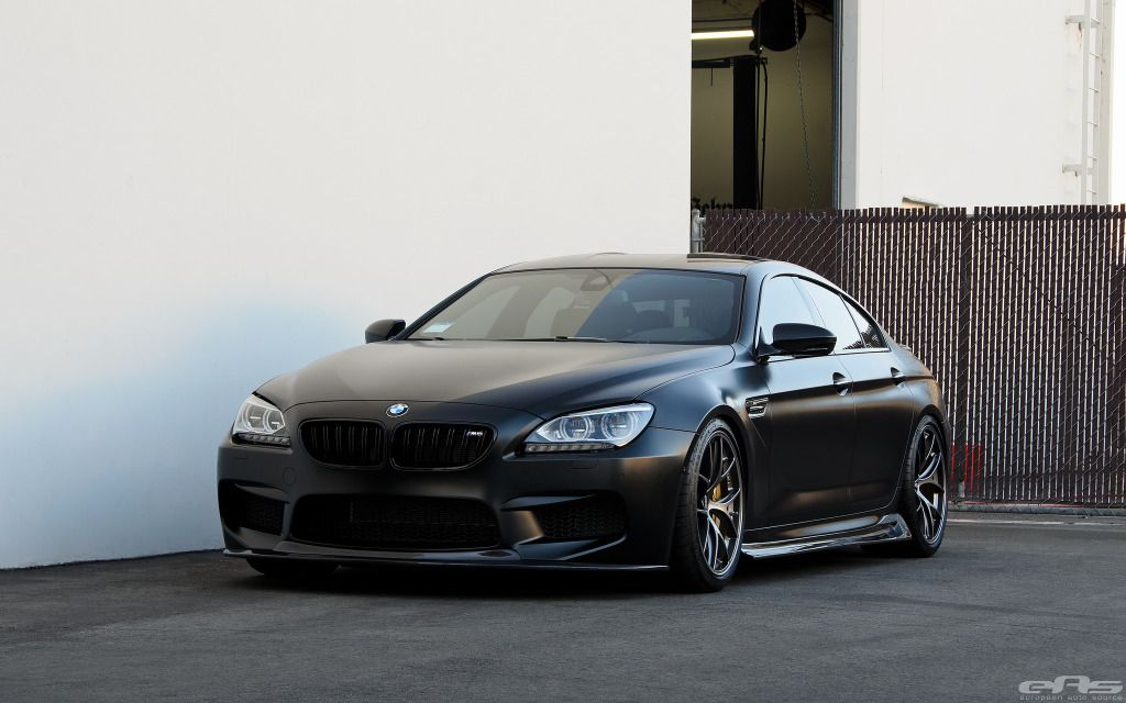 M6 Gran Coupe Frozen Black Updated With Images Bmw M6 Bmw