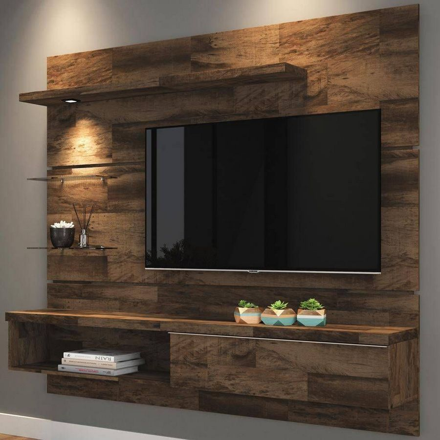 99+ Awesome Vintage TV Wall Decor Idea for Bedroom Design ...