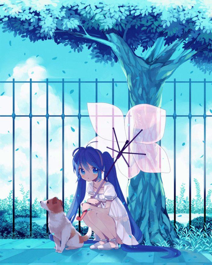 myanimelife animepets Anime scenery, Anime images