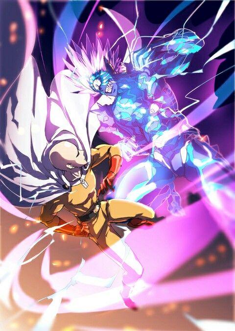 Saitama And Boros Opm One Punch Man Anime Saitama One Punch One Punch Man