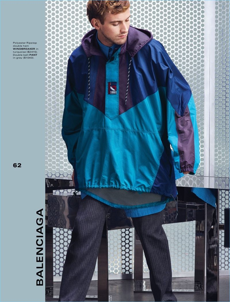 c862050114e On the Slide  RJ King Embraces Athleisure Style for Holt Renfrew ...