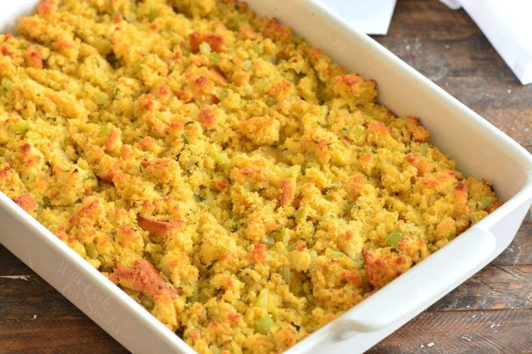 Cornbread Dressing - Will Cook For Smiles