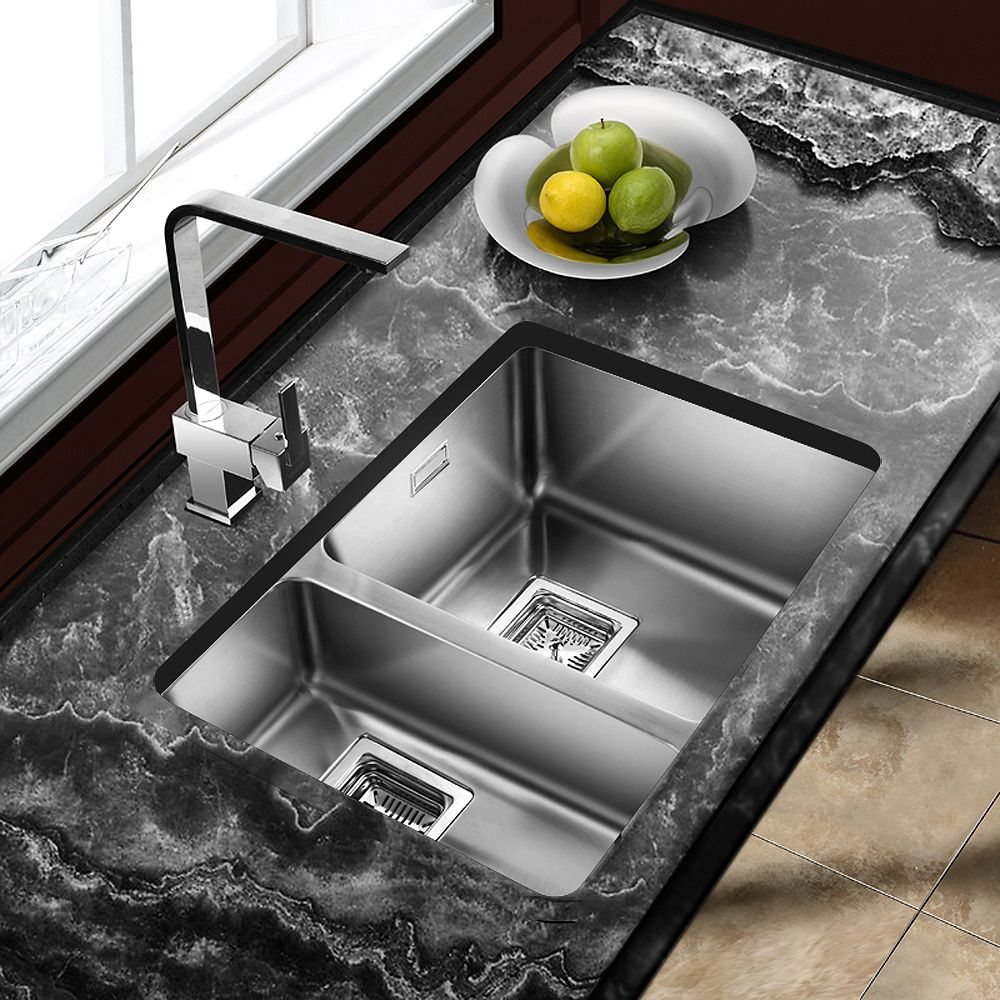 Two Hole Drop In Kitchen Sinks