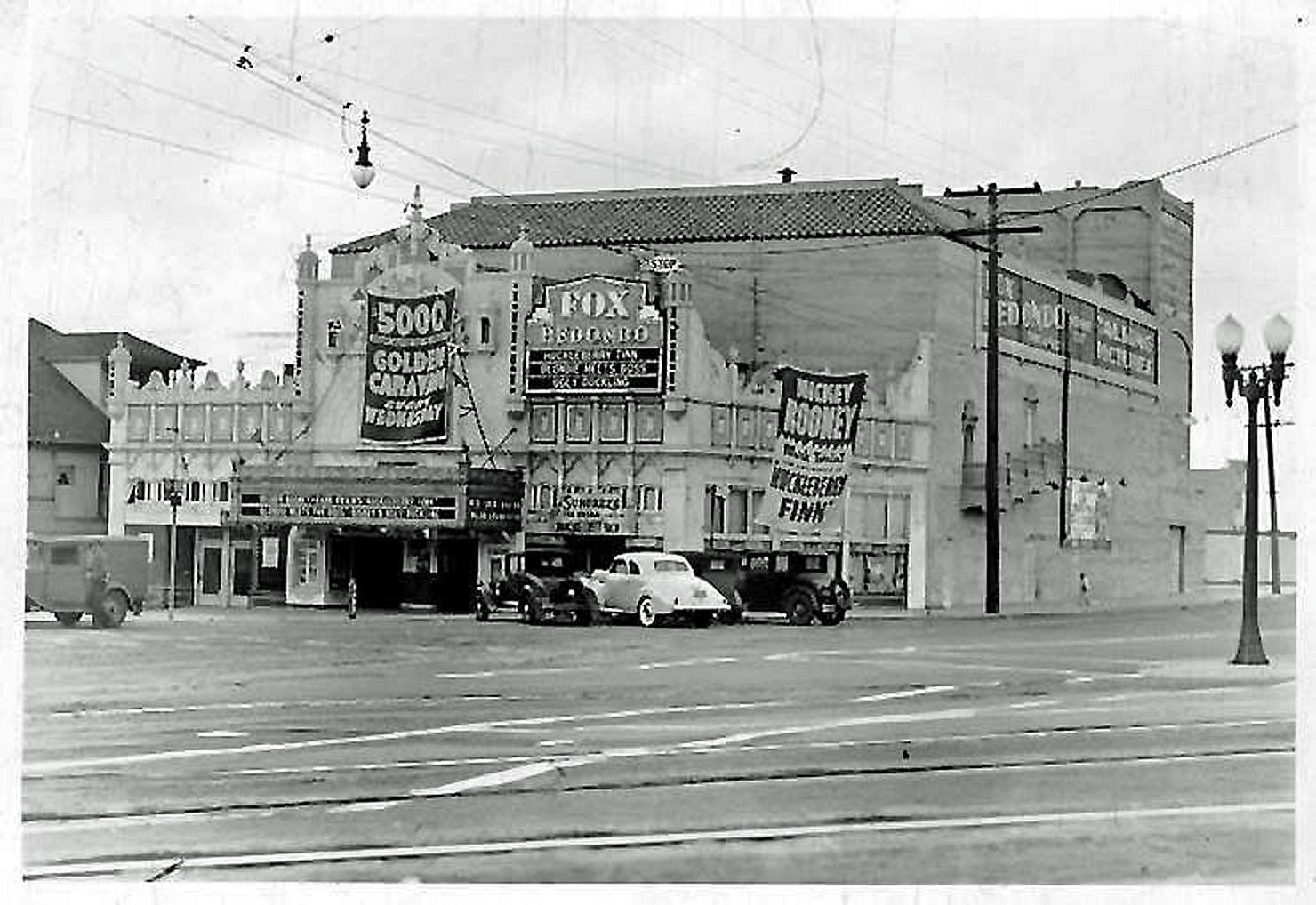 Very Old Redondo Beach Fox theater photo  Fox Redondo