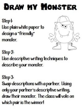 descriptive activities