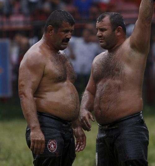 Turkish bear men