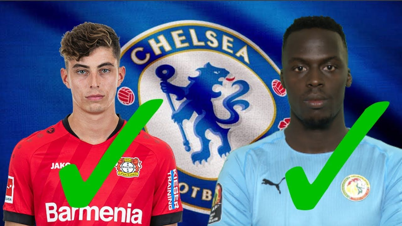 Kai Havertz Had Medical In London Contract Signed Edouard Mendy Con Medical Chelsea Transfer News Contract