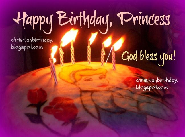 Free Happy Birthday Jpg ~ Happy birthday princess free christian card g happy