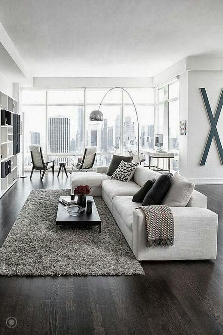 36 Luxurious Black And White Living Room Ideas Living Room Decor Modern Interior Design Living Room Modern Apartment Design