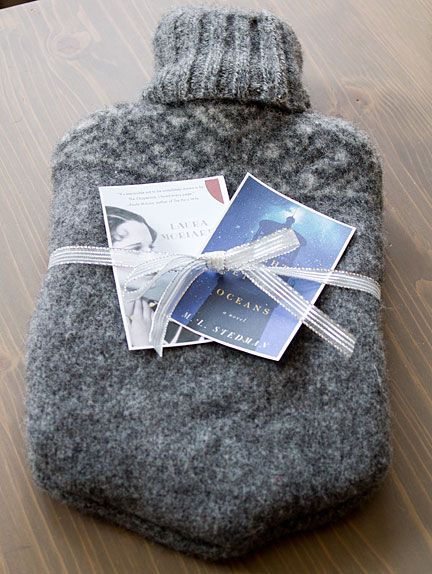 hot water bottle cover from a felted sweater | Crafts | Pinterest ...