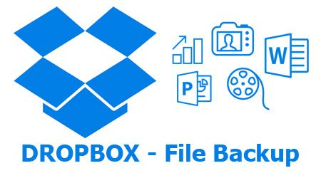 Dropbox Guide backup files with dropbox app (With images