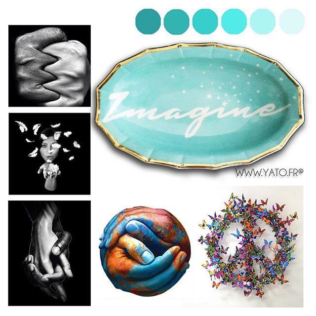 ⭐️YATO⭐️ (@beayato) • Coll. IMAGINE Vintage Customised Porcelain wwww.yato.fr