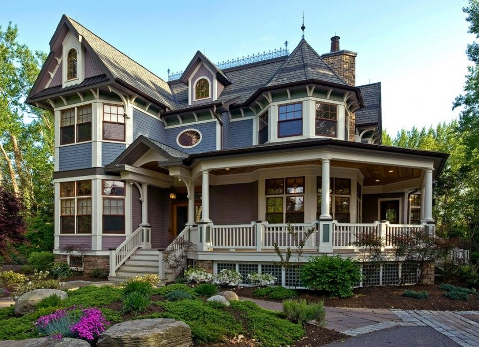 Home Design Architecture Wonderful Victorian Style House