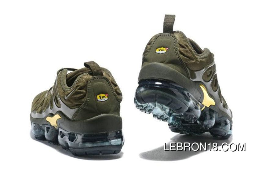 25d0a03722ad Nike Air VaporMax Plus Womens Gold Army Green Super Deals in 2019 ...