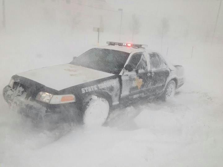 Texas Highway Patrol In Amarillo Snow Awesome Picture Worst Week Of My Life