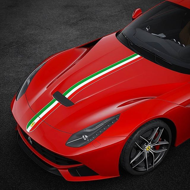This Is The Livery 31 70 Essence Of A Ferrari Tricolor Stripes