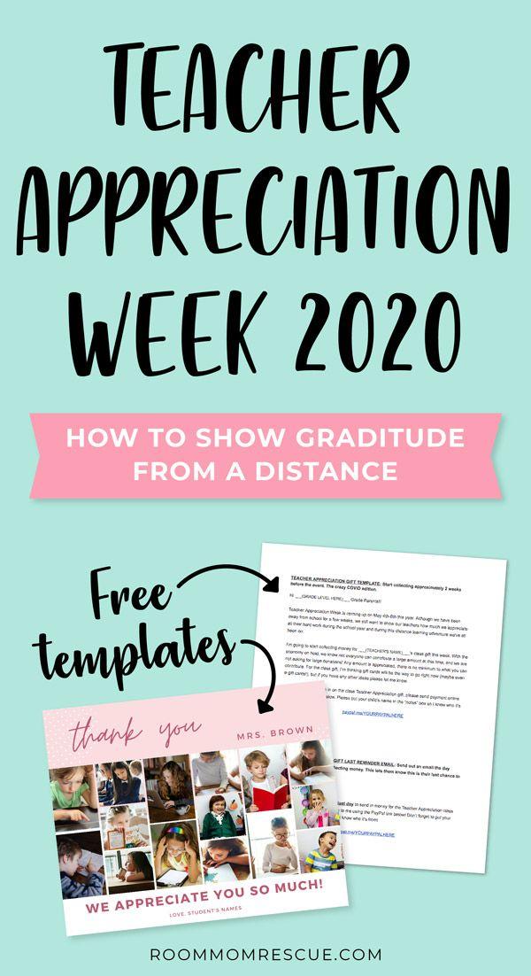 Teacher Appreciation Week 2020 How To Show Gratitude From A Distance Teacher Favorite Things Teacher Appreciation Week Teachers Appreciation Week Gifts