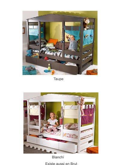 Le Lit Cabane Une Super Idee Pour Decorer La Chambre D Un Enfant Lit Cabane Deco Chambre Garcon Et Deco Chambre Ado Garcon