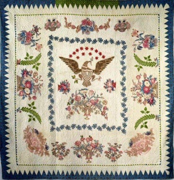 Antique quilt on exhibit March-2015