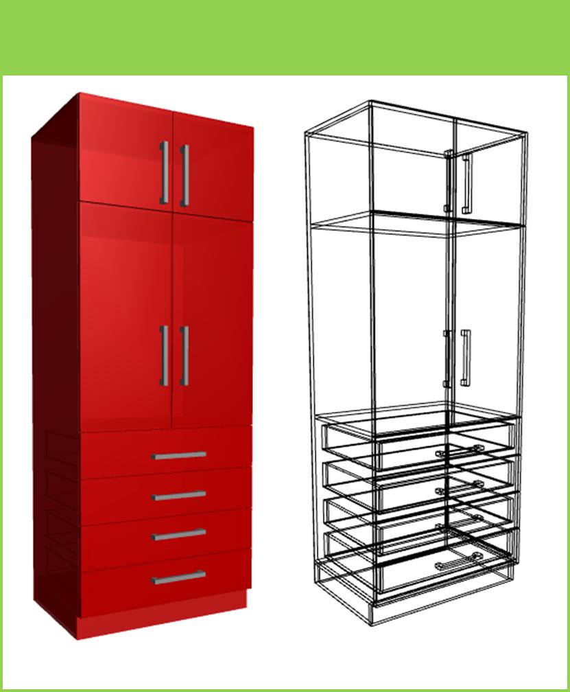 Diseño De Muebles Madera: Construcción de Closet Modulares + ...