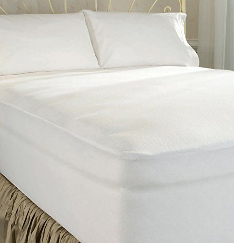 Dreamfit Dream Clean Terry Cloth Mattress Protector Split Cal King