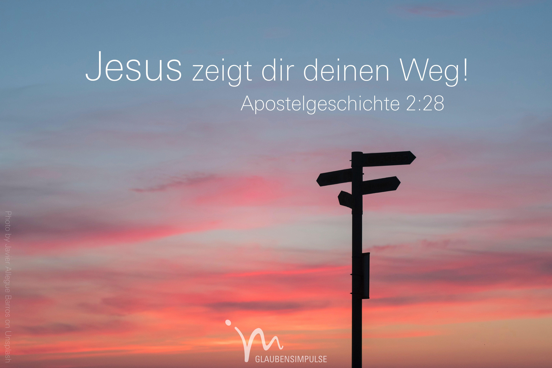Gott zu jesus weg der 1.12 Warum