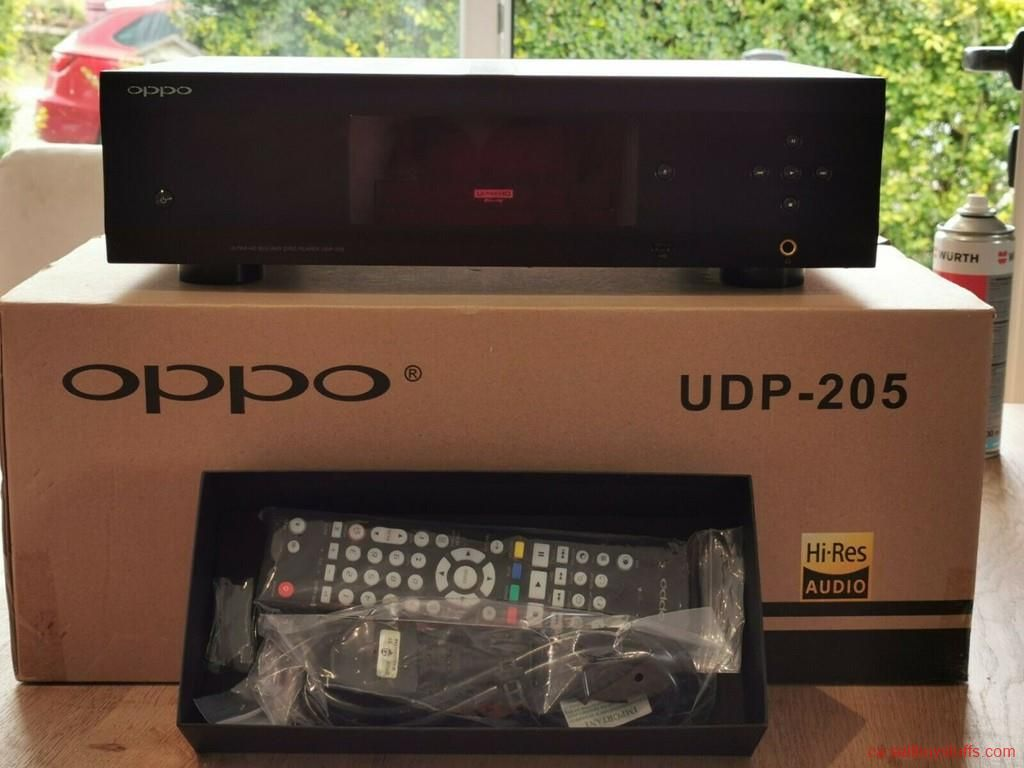 Second Hand New Am My Used Oppo Udp 205 4k Blu Ray Player Electronic Appliances Things To Sell Home Appliances