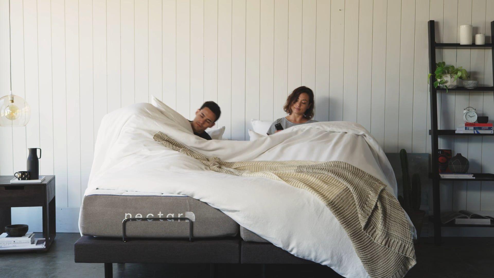 Nectar Adjustable Hero Video 30 Sec Adjustable Beds